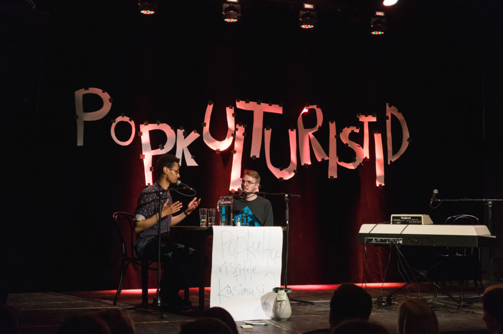 Ivo ja Jim laval Popkulturistide sünnal