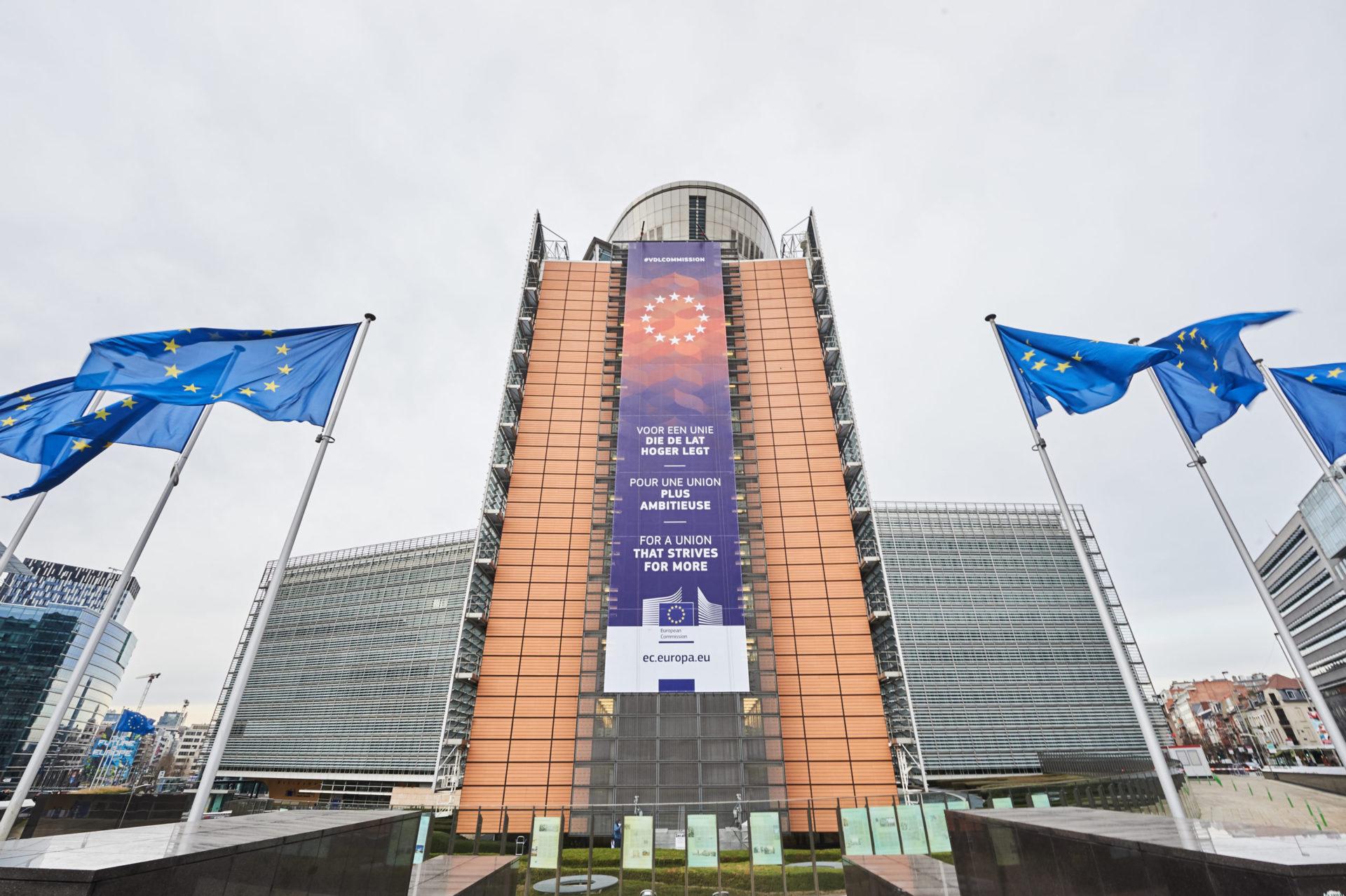 Euroopa komisjoni peahoone Brüsselis